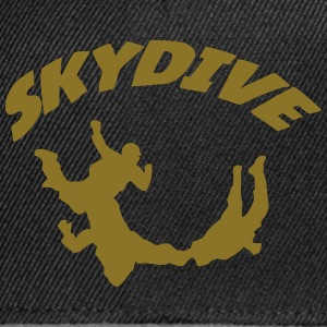 Skydiving Shirts - Snapback cap