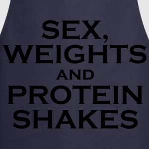Sex, weights and protein shakes - Delantal de cocina