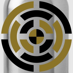 Circle, Symbol, Sign, Icon, Emblem, Badge,  T-Shirts - Water Bottle