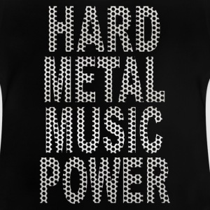 hard metal music power Shirts - Baby T-Shirt
