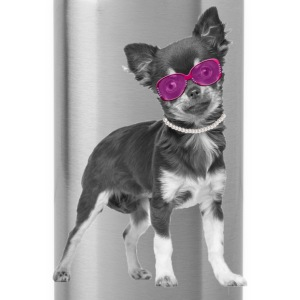 Chihuahua pimp Tops - Trinkflasche