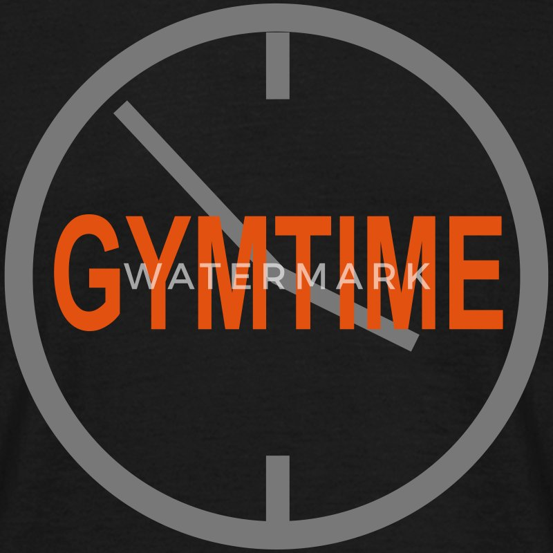 Gymtime? - Bodybuilding, Fitness, Crossfit  - Mannen T-shirt