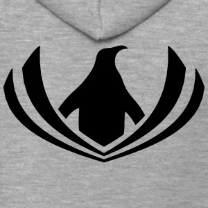 Penguin logo hipster swag sailor T-Shirts - Men's Premium Hooded Jacket
