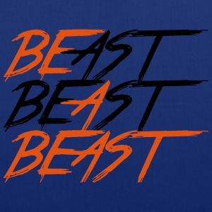 Be A Beast - Bodybuilding, Fitness, Crossfit  - Tas van stof