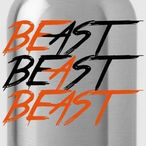 Be A Beast - Bodybuilding, Fitness, Crossfit  - Drinkfles