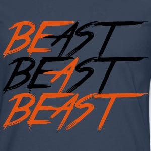 Be a beast - Men's Premium Longsleeve Shirt