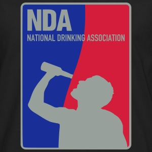 NDA National Drinking Association T-Shirts - Männer Premium Langarmshirt