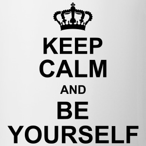 keep_calm_and_be_yourself_g1 T-skjorter - Kopp