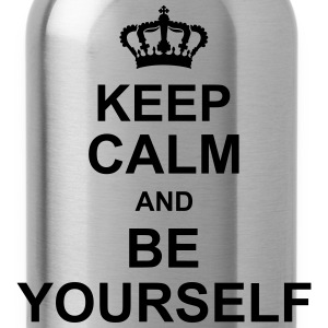 keep_calm_and_be_yourself_g1 T-shirts - Drinkfles