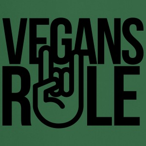 vegans rule T-Shirts - Cooking Apron