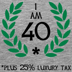 50 - 40 plus tax Tops - Männer Premium T-Shirt