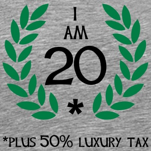 30 - 20 plus tax Tops - Männer Premium T-Shirt