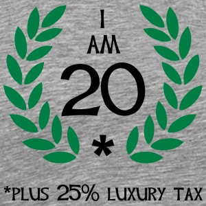 25 - 20 plus tax Long sleeve shirts - Men's Premium T-Shirt