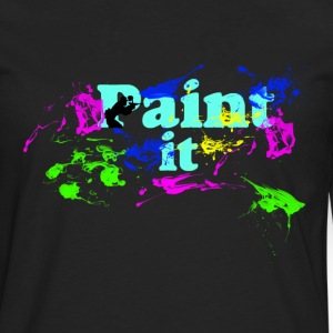 Paintball-Paint It - Männer Premium Langarmshirt