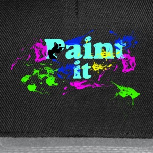 Paintball-Paint It - Snapback Cap