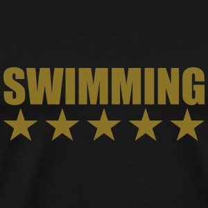 Swimming Sweatshirts - Herre premium T-shirt