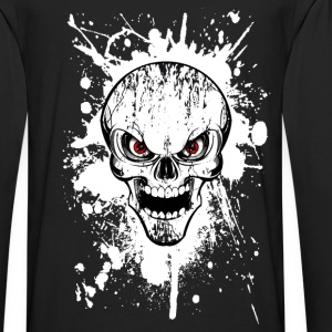 skull grunge style 02 Sweat-shirts - T-shirt manches longues Premium Homme
