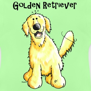 Golden Retriever Tee shirts - T-shirt Bébé