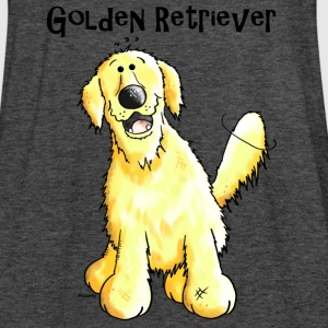 Felice Golden Retriever - Cane - Cani Felpe - Top da donna della marca Bella