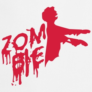 Zombie of undead design T-Shirts - Cooking Apron