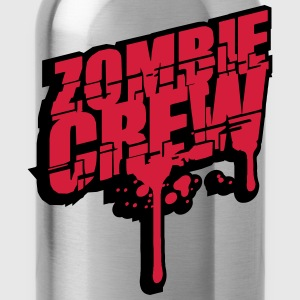Zombie crew blood drop undead T-Shirts - Water Bottle