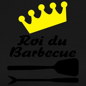 roi bbq 2colors Tabliers - T-shirt Premium Homme