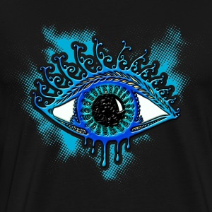 Eye, symbol protection, wisdom, healing & strength Hoodies & Sweatshirts - Men's Premium T-Shirt