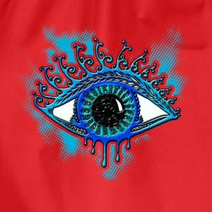 Eye, symbol protection, wisdom, healing & strength T-Shirts - Drawstring Bag