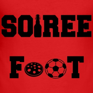 Soiree foot Manga larga - Camiseta ajustada hombre