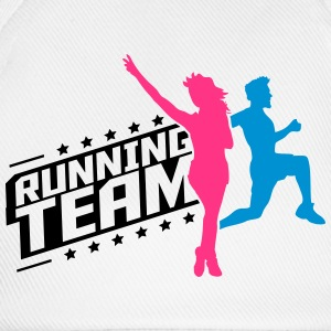 Running Team man women's group T-Shirts - Baseball Cap
