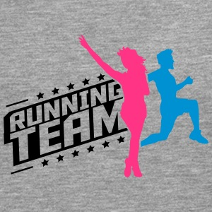 Running Team man women's group T-Shirts - Men's Premium Longsleeve Shirt