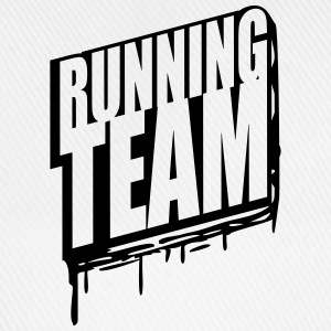 Running team group crew runner graffiti T-Shirts - Baseball Cap