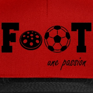 Foot une passion T-Shirts - Snapback Cap