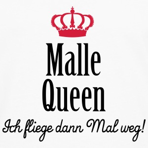 Malle Queen (ext., 2c) T-Shirts - Men's Premium Longsleeve Shirt