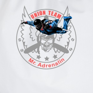 Union Team Mr. Adrenalin Skydive T-shirts - Gymnastikpåse