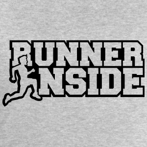 Cool Logo Design Runner Inside T-Shirts - Men's Sweatshirt by Stanley & Stella