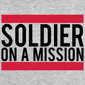 Soldier on a Mission logo T-Shirts - Men's Sweatshirt by Stanley & Stella