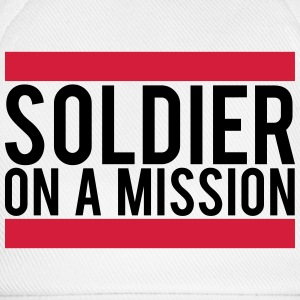 Soldier on a Mission logo T-Shirts - Baseball Cap