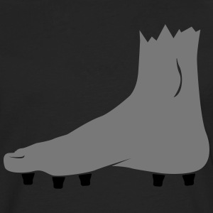 football foot with cleats T-Shirts - Men's Premium Longsleeve Shirt