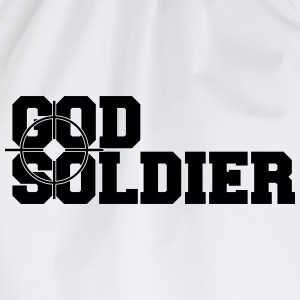 God Soldier Sniper Vision T-Shirts - Drawstring Bag
