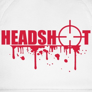 Boom Headshot Sniper Killer Blood T-Shirts - Baseball Cap