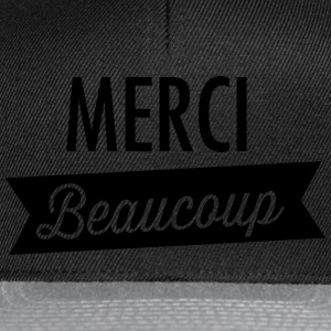 Merci Beaucoup Camisetas - Gorra Snapback