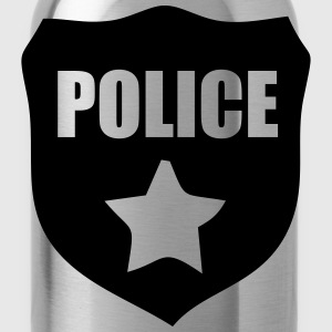 Police T-Shirts - Water Bottle