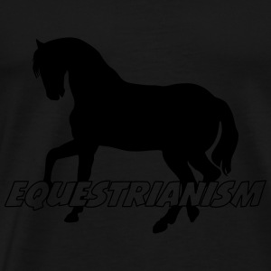Equestrianism Manches longues - T-shirt Premium Homme