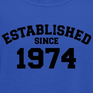 Established 1974 T-Shirts - Frauen Tank Top von Bella