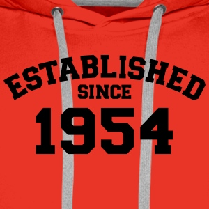 Established 1954 T-Shirts - Männer Premium Hoodie