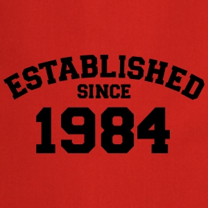 Established 1984 T-Shirts - Kochschürze