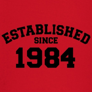 Established 1984 T-Shirts - Baby Langarmshirt
