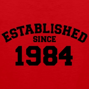 Established 1984 T-Shirts - Männer Premium Tank Top