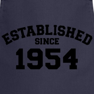 Established 1954 T-Shirts - Kochschürze